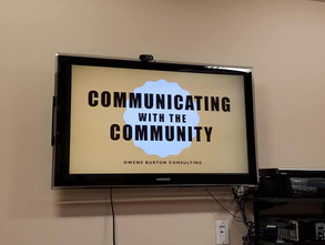 Communicating  with the Community