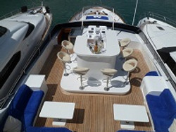 Motoryacht Mallorca Deck