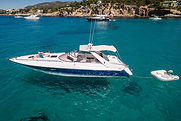 Sunseeker_Außen_Bootsvermietung_Mallorca