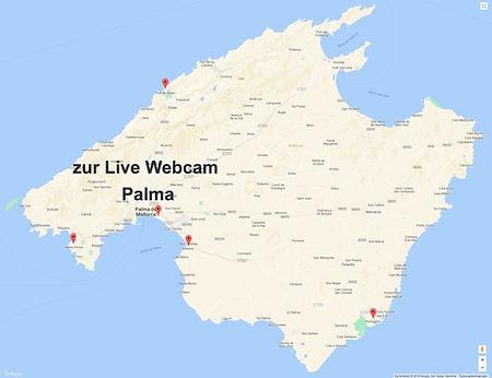Webcam Palma Bootsverleih Mallorca Sunbo