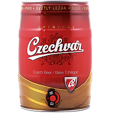 Cerveza Czechvar Barril x 5 LT