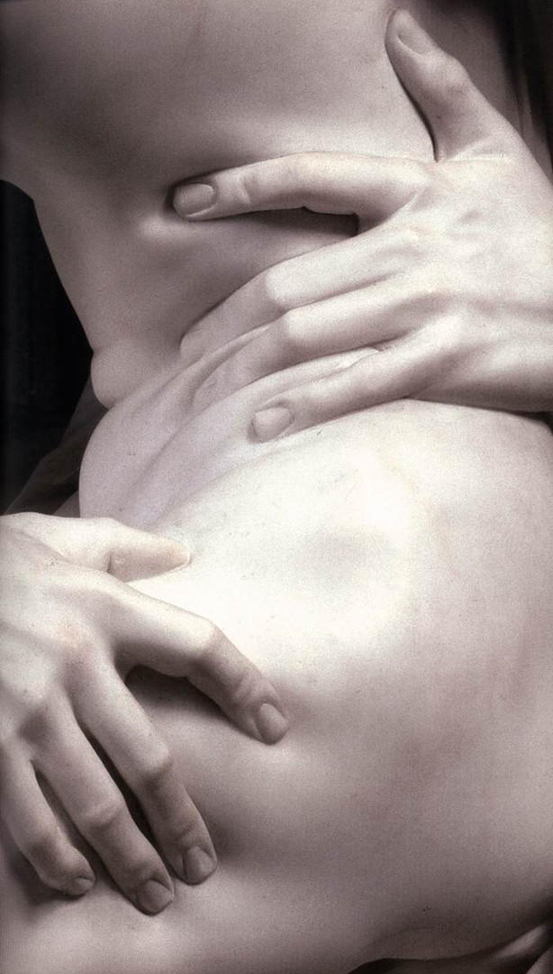 Pluto and Proserpina  detail