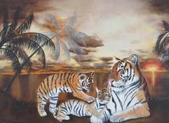 Triple tigre