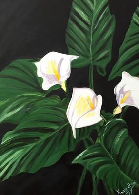 Type : Peinture à l'acrylique