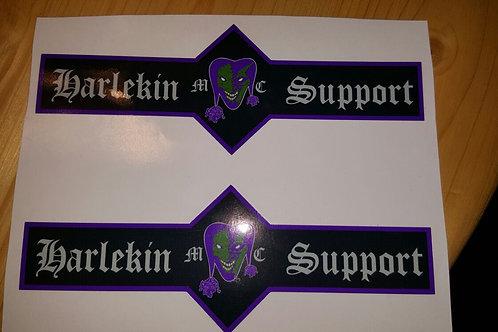 Support Aufkleber 2er Set.