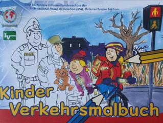 Kinderverkehrsmalbuch 2020 der International Police Association (IPA), Österreichische Sektion