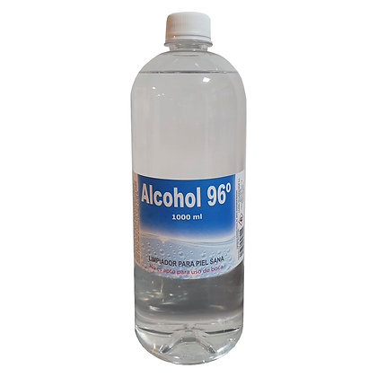 ALCOHOL 96º GRADOS - 1000 ml