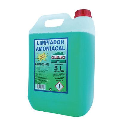 LIMPIADOR AMONIACAL 5 Litros - Casablanca