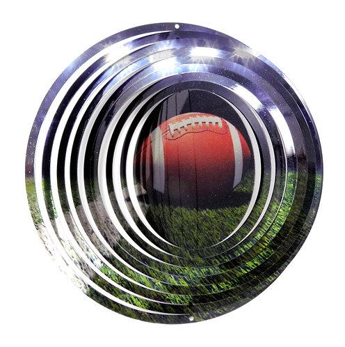 WorldaWhirl 3D Wind Spinner, Football, Multi