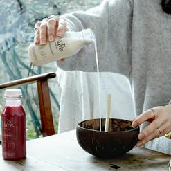 Le classique de chez Nude. Le Almond Milk, une boisson 100% végétal tout doux et facile à boire