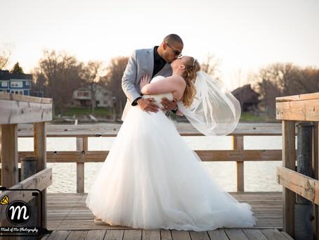 Mr. & Mrs. Scott - Backyard Wedding in Rosemount, MN