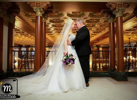 Mr. & Mrs. Mitchell - Wedding Day at Greysolon Ballroom - Duluth, MN
