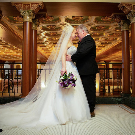 Mr. & Mrs. Mitchell - Wedding Day at Greysolon Ballroom - Duluth, MN