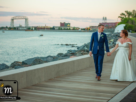 Mr. & Mrs. Johnson - The Boat Club in Duluth, MN