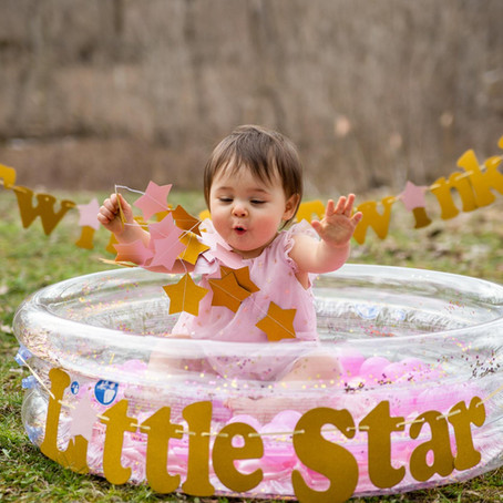 Ella's First Birthday Session - Rochester, MN