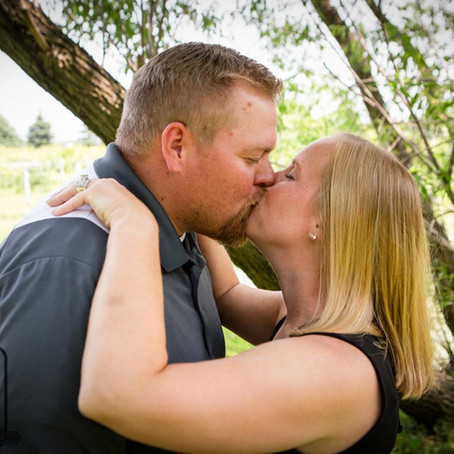 Kate & Andy - Mini Session at Next Chapter Winery - New Prague, MN