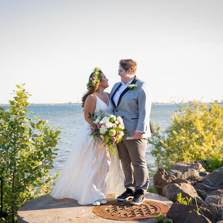 Mrs. & Mrs. Alexsevich - Pocket Park in Duluth, MN