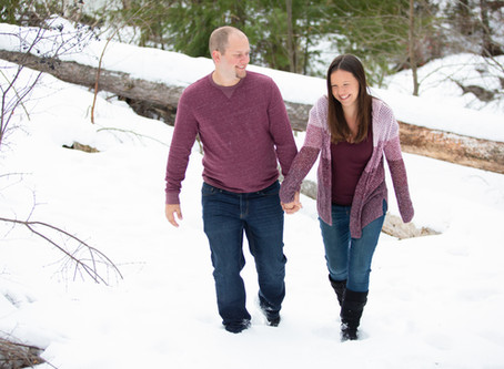 Kristy & Jason - Engagement Session at Lester Park - Duluth, MN