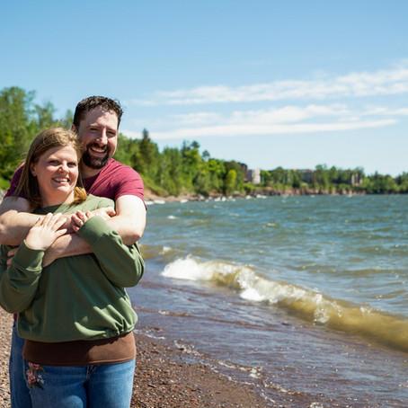 Shannon & Ken's Engagement Session - Glensheen Mansion in Duluth, MN