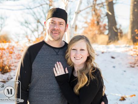 Leah & Joe - Engagement at Silverwood Park