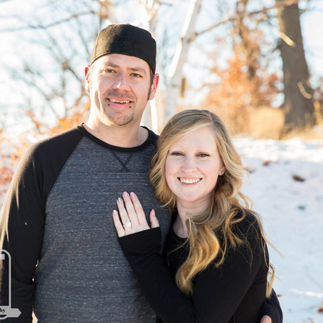 Leah & Joe - Engagement at Silverwood Park