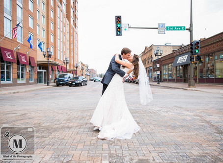 Mr. & Mrs. Born - Wedding Day at Greysolon Ballroom