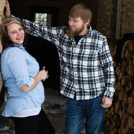 Shelby & Ethan - Engagement at the Plummer House