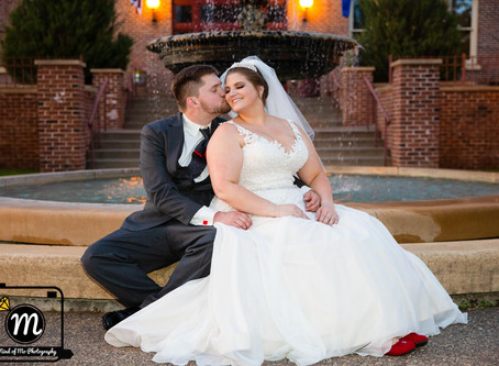 Mr. & Mrs. Maas - Wedding Day at the St. James Hotel - Red Wing, MN