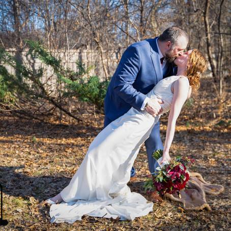 Mr. & Mrs. Kuehn - Backyard Wedding Day - St. Anthony, MN
