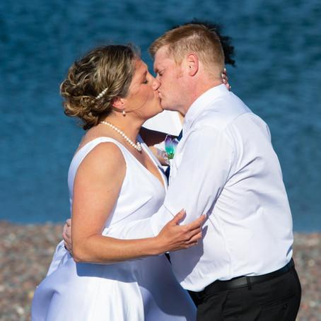 Mr. & Mrs. Lehrke - Superior Shores Resort in Two Harbors, MN