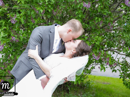 Mr. & Mrs. Welz - Wedding Day at the St. Cloud Eagle's Club - St. Cloud, MN