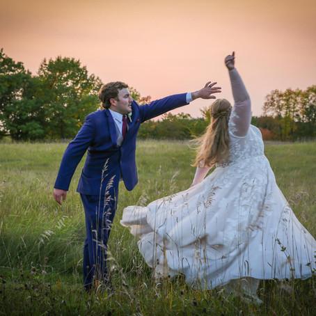 Mr. & Mrs. Brokaw - Wedding Day at Creekside Farm - Rush City, MN