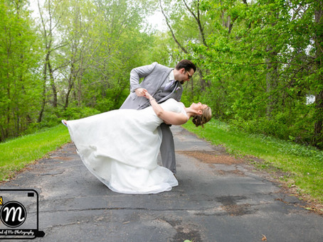Mr. & Mrs. McLain - Wedding Day at the Crowne Plaza