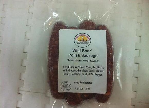 Wild Boar Polish Sausage