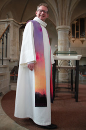 Liturgische Stola - Roze