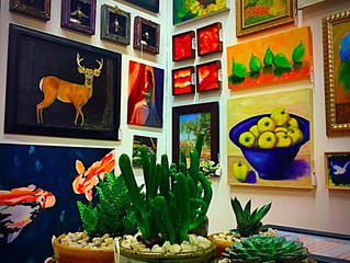 LACY Original Art @ Kudzu and Company (Sandy Springs, GA)