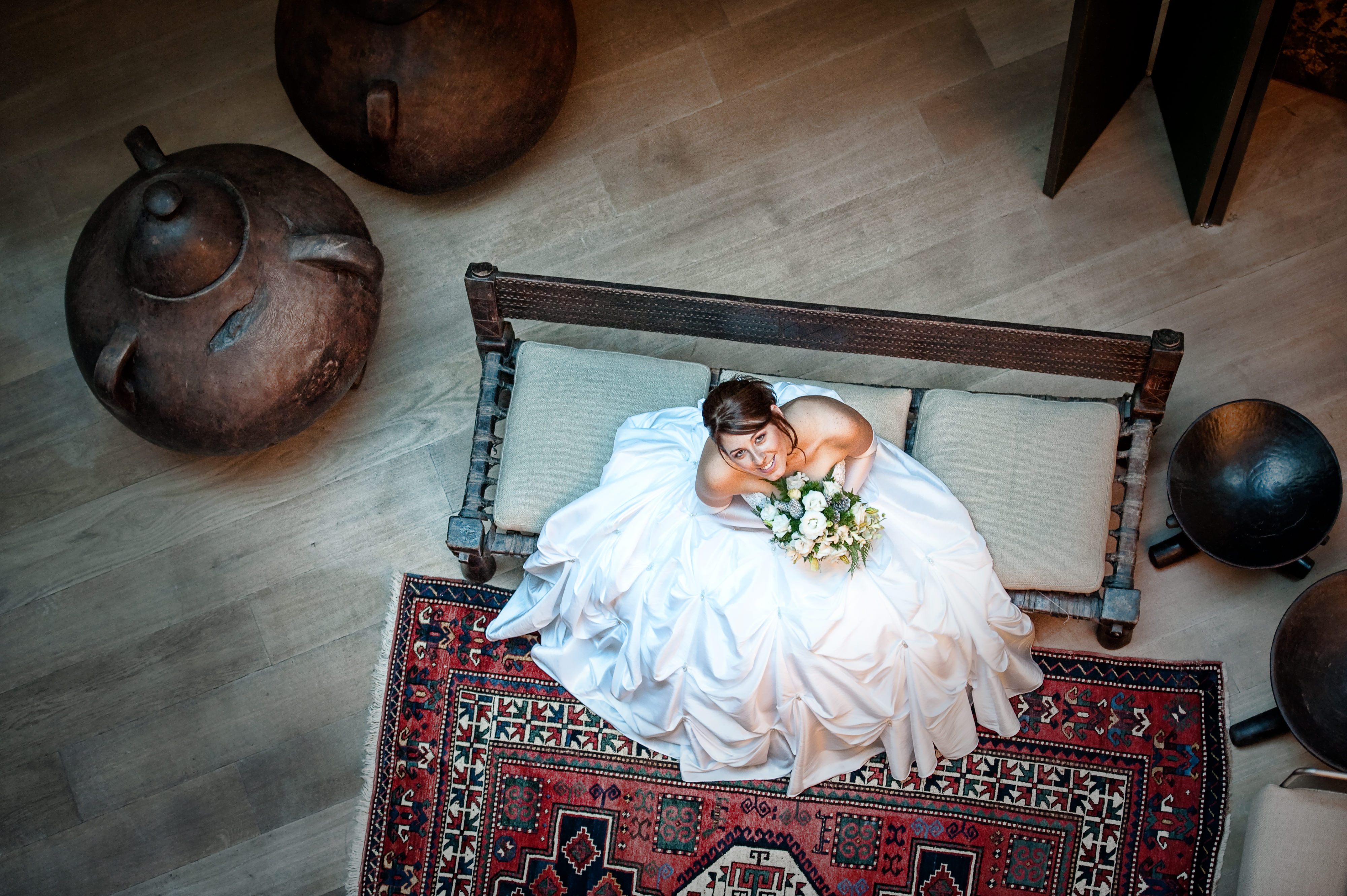 Bride in Mamila Hotel Jerusalem