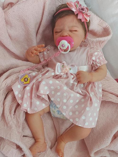 Bebê reborn kit Lilia