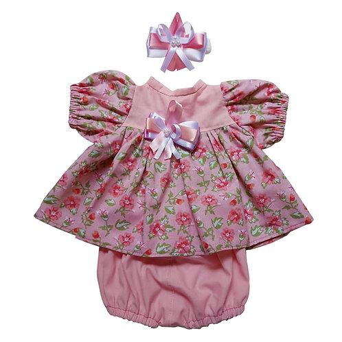 Conjunto Florido Rosa #02