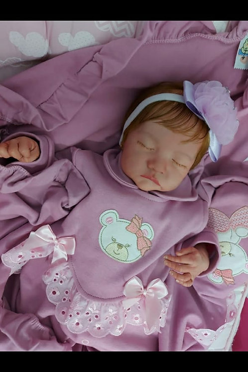Bebê reborn kit Levi