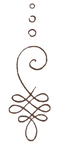 Brown - post sharpening Unalome logo ori