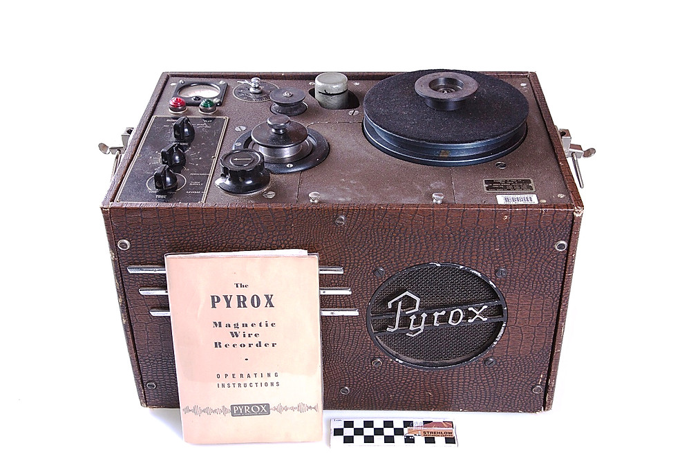The Pyrox Wire Recorder