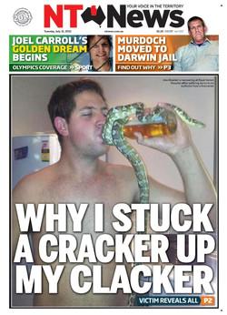WHY I STUCK A CRACKER UP MY CLACKER