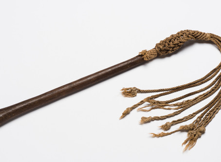 SEPTEMBER: Cat-o-nine-tails from Fannie Bay Gaol