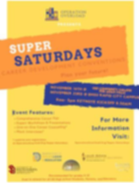 Super Saturday Career Development Conven