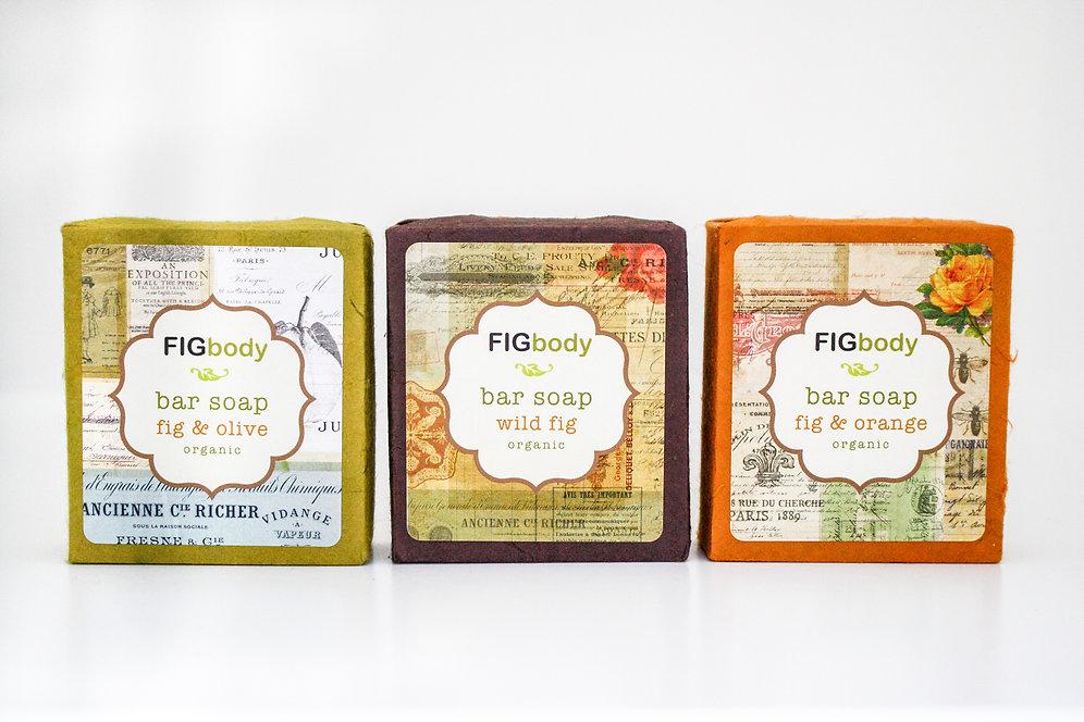 FIGbody Soap Bars