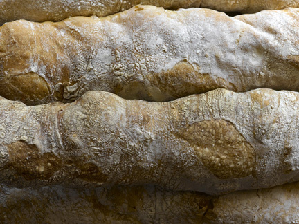 Up close photo of bread