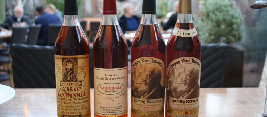 Pappy Van Winkle - Now pouring at the girl & the fig!