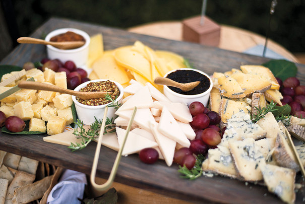 fruit & cheese station