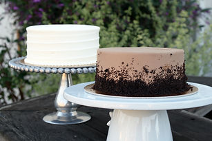 Restaurant Cakes-Chocolate with Crumb an